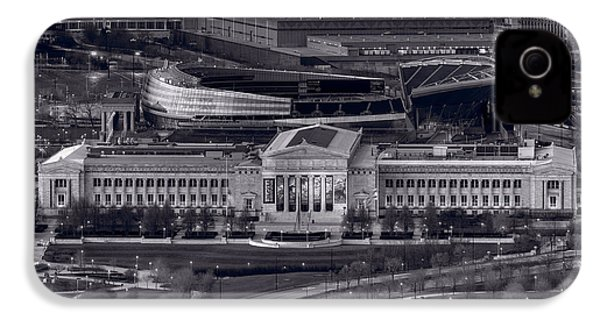 Chicago Icons Bw IPhone 4 / 4s Case by Steve Gadomski