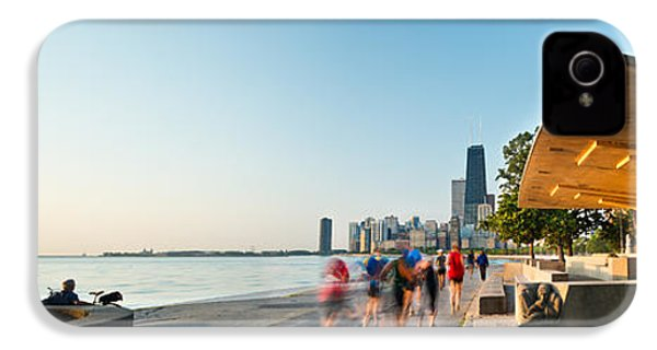 Chicago Lakefront Panorama IPhone 4 / 4s Case by Steve Gadomski