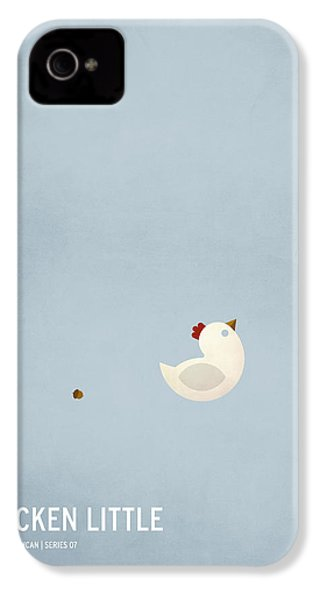 Chicken Little IPhone 4 Case by Christian Jackson