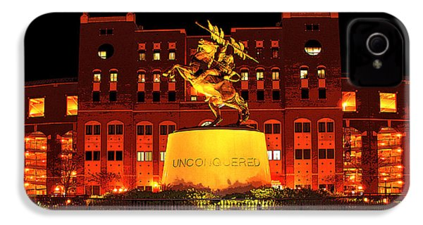 Chief Osceola And Renegade Unconquered IPhone 4 / 4s Case by Frank Feliciano