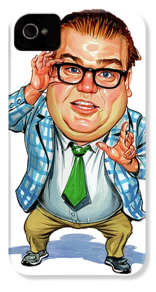 Chris Farley As Matt Foley IPhone 4 Case