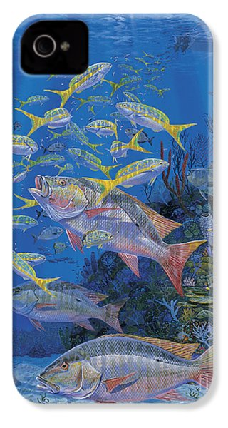 Chum Line Re0013 IPhone 4 Case by Carey Chen