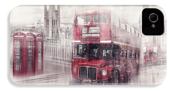 City-art London Westminster Collage II IPhone 4 Case
