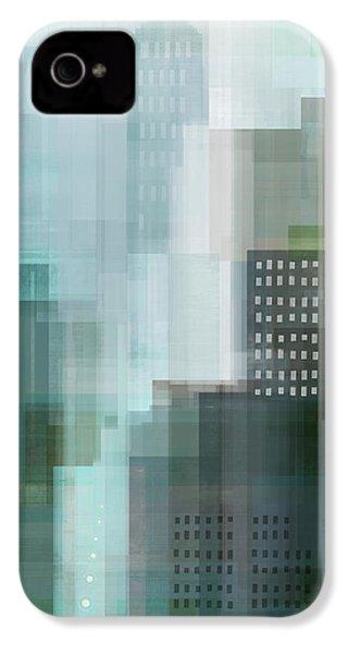 City Emerald IPhone 4 Case by Dan Meneely