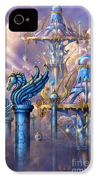 City Of Swords IPhone 4 / 4s Case by Ciro Marchetti