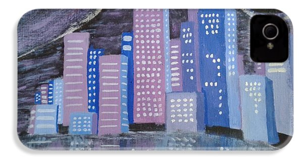 City Reflections IPhone 4 Case by Erica  Darknell