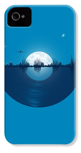 City Tunes IPhone 4 Case by Neelanjana  Bandyopadhyay