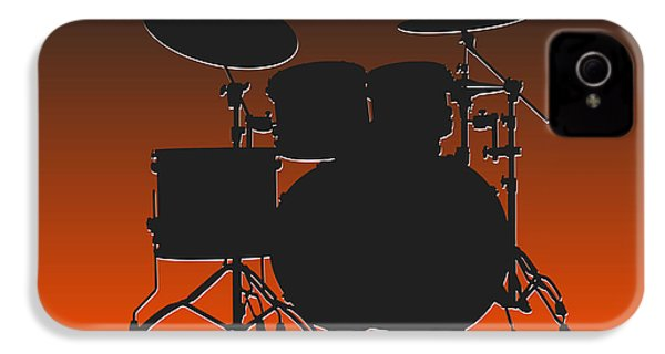 Cleveland Browns Drum Set IPhone 4 Case by Joe Hamilton