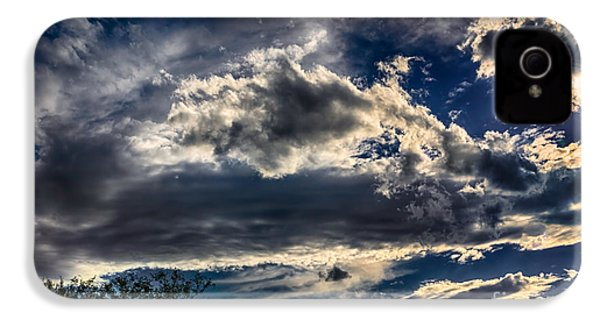 IPhone 4 Case featuring the photograph Cloud Drama by Mark Myhaver