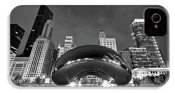Cloud Gate And Skyline IPhone 4 Case