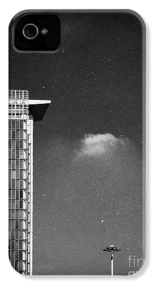 IPhone 4 Case featuring the photograph Cloud Lamp Building by Silvia Ganora