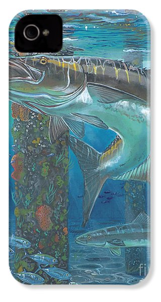 Cobia Strike In0024 IPhone 4 / 4s Case by Carey Chen