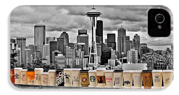 Coffee Capital IPhone 4 Case by Benjamin Yeager
