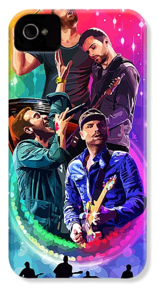 Coldplay Mylo Xyloto IPhone 4 Case by FHT Designs