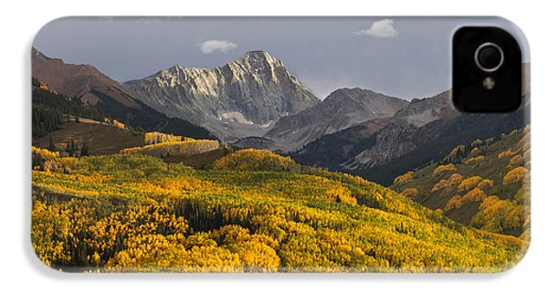 Colorado 14er Capitol Peak IPhone 4 Case by Aaron Spong