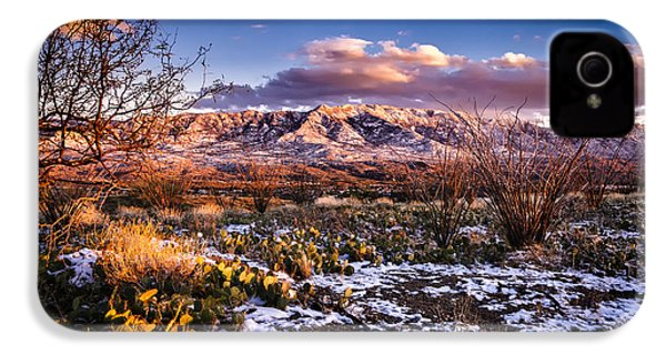 IPhone 4 Case featuring the photograph Colors Of Winter by Mark Myhaver