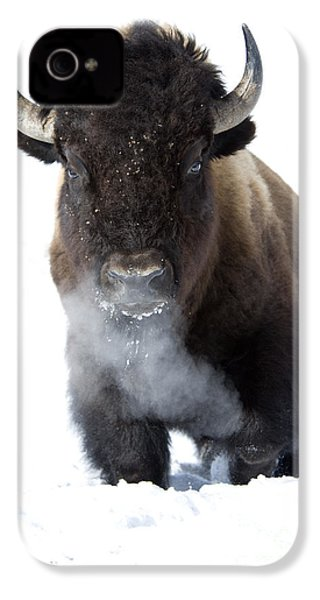 Coming Through IPhone 4 / 4s Case by Deby Dixon