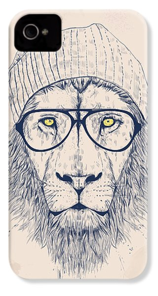 Cool Lion IPhone 4 Case by Balazs Solti