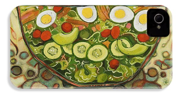 Cool Summer Salad IPhone 4 / 4s Case by Jen Norton
