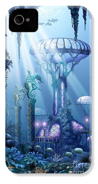 Coral City   IPhone 4 Case
