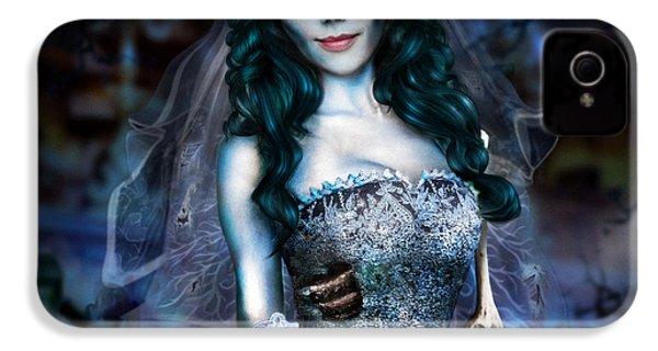 Corpse Bride IPhone 4 / 4s Case by Alessandro Della Pietra
