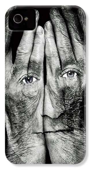 Cover Thy Faces IPhone 4 Case by Gary Keesler