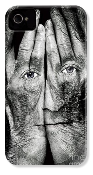 Cover Thy Faces IPhone 4 / 4s Case by Gary Keesler