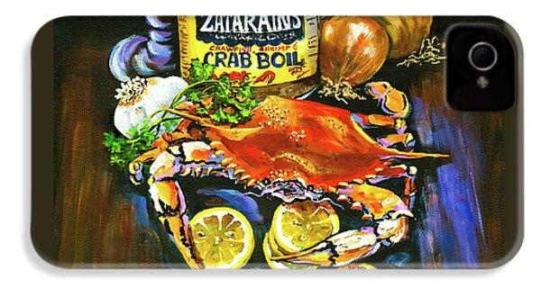 Crab Fixin's IPhone 4 Case