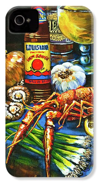 Crawfish Fixin's IPhone 4 Case