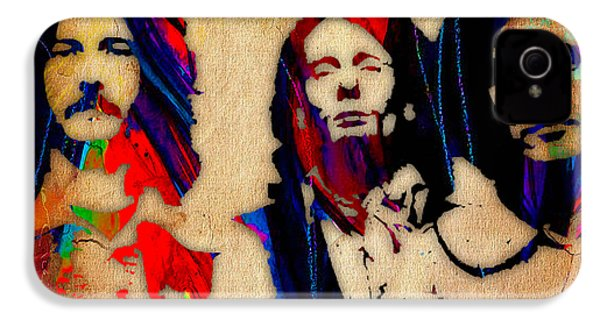 Cream Eric Clapton Jack Bruce Ginger Baker IPhone 4 / 4s Case by Marvin Blaine