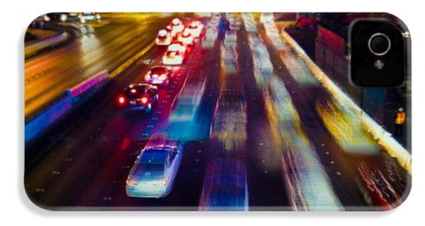 Cruising The Strip IPhone 4 Case by Alex Lapidus