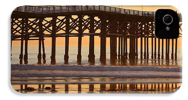 IPhone 4 Case featuring the photograph Crystal Pier by Nathan Rupert