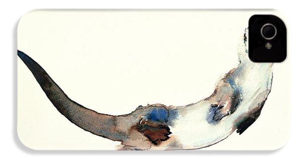 Curious Otter IPhone 4 Case by Mark Adlington