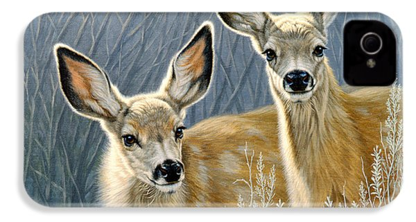 Curious Pair IPhone 4 Case by Paul Krapf