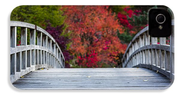 IPhone 4 Case featuring the photograph Cypress Bridge by Sebastian Musial