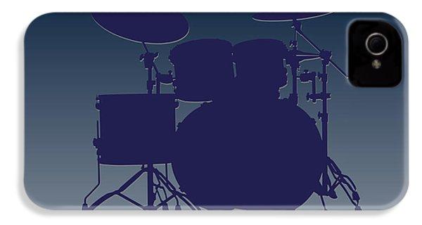 Dallas Cowboys Drum Set IPhone 4 Case by Joe Hamilton