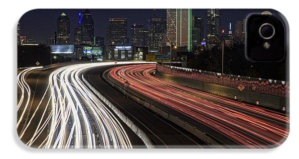 Dallas Night IPhone 4 Case by Rick Berk