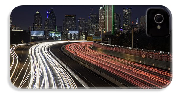 Dallas Night IPhone 4 Case by Rick Berk