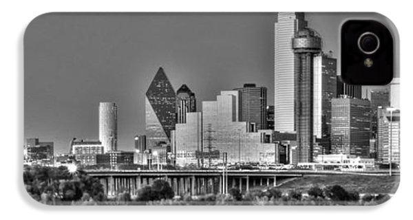 Dallas The New Gotham City  IPhone 4 Case by Jonathan Davison