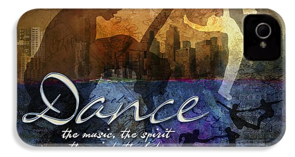 Dance Bright Colors IPhone 4 Case