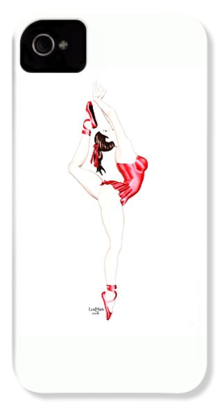 Dancer IPhone 4 Case by Renate Janssen