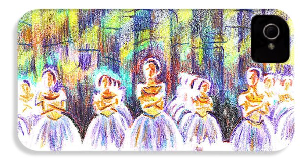 Dancers In The Forest IPhone 4 Case by Kip DeVore