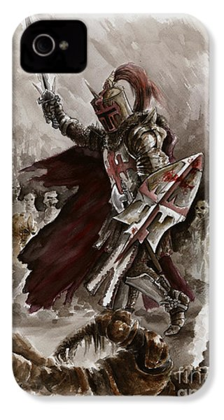 Dark Crusader IPhone 4 / 4s Case by Mariusz Szmerdt