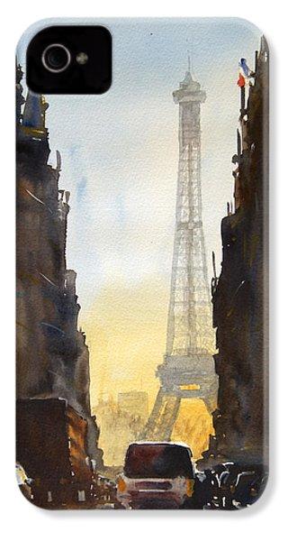 Dawn In Paris IPhone 4 Case by James Nyika