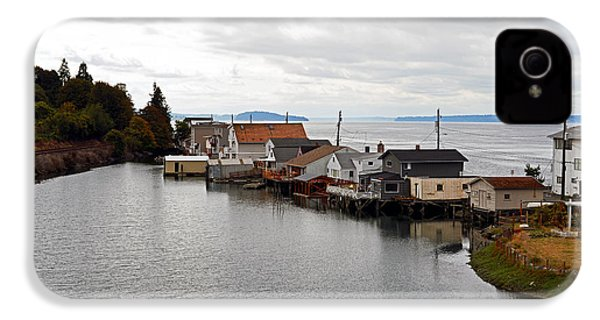IPhone 4 Case featuring the photograph Day Island Bridge View 1 by Anthony Baatz