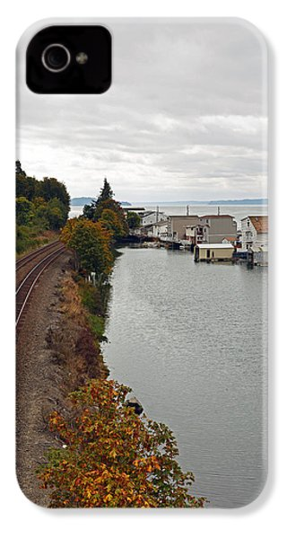 IPhone 4 Case featuring the photograph Day Island Bridge View 2 by Anthony Baatz