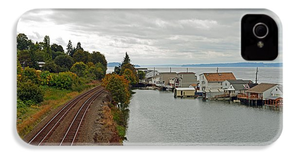 IPhone 4 Case featuring the photograph Day Island Bridge View 3 by Anthony Baatz