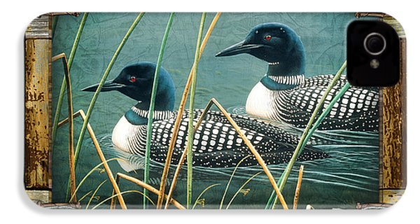 Deco Loons IPhone 4 / 4s Case by JQ Licensing