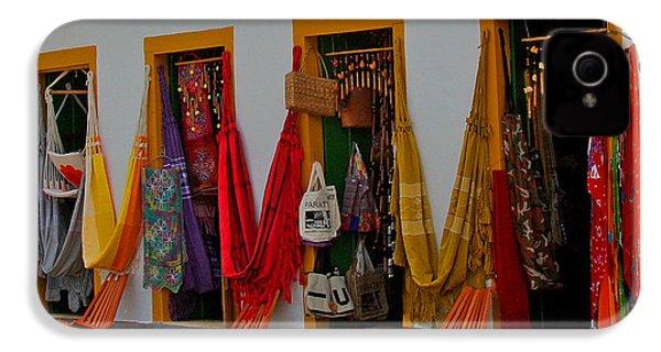 Decorated Doorways IPhone 4 Case by Nareeta Martin