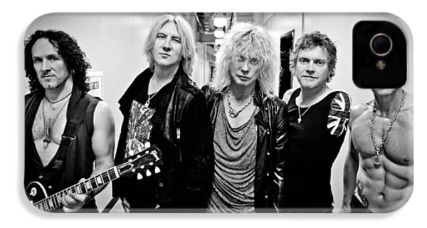 Def Leppard - Mirrorball Tour 2011 B&w IPhone 4 / 4s Case by Epic Rights